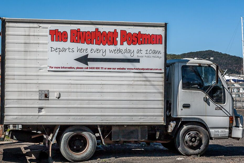 Riverboat Postman truck