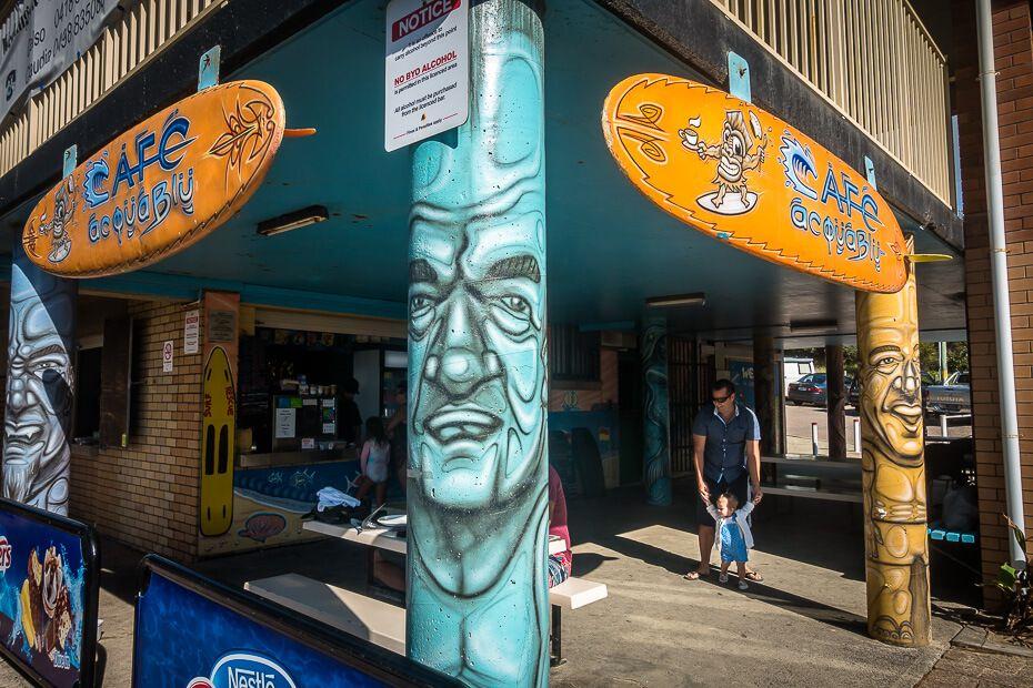 Acqua Blue Kiosk