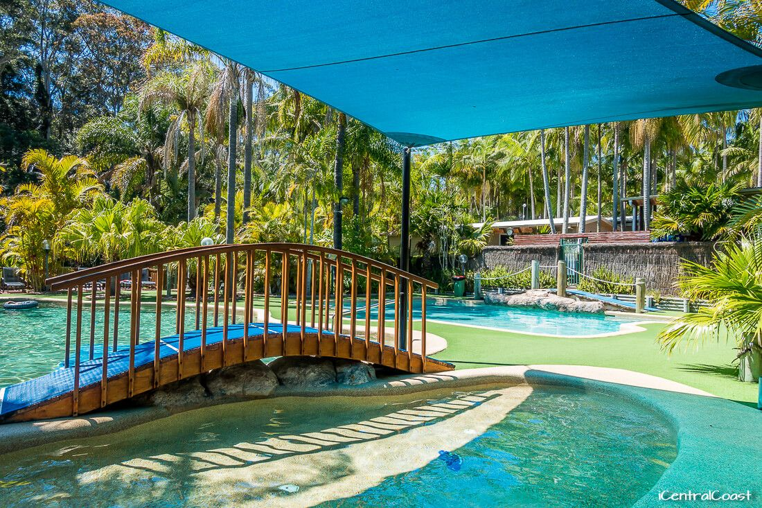 Central Coast cabins - The Palms at Avoca