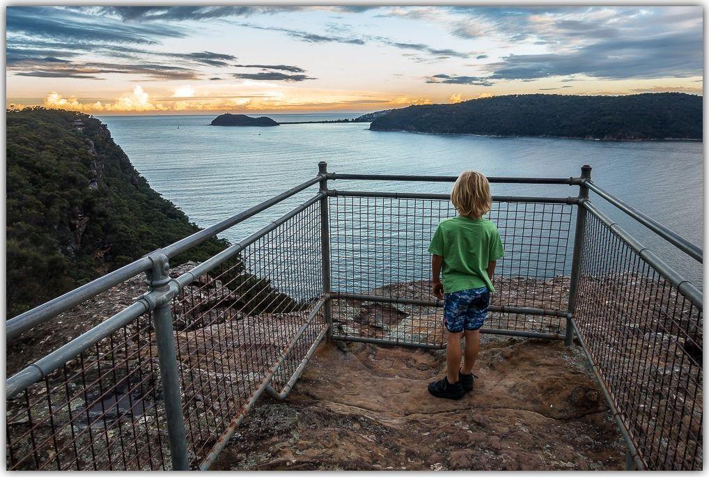 Warrah Lookout in Brisbane Water National Park