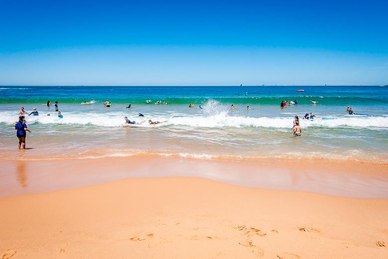 Family beaches Central Coast