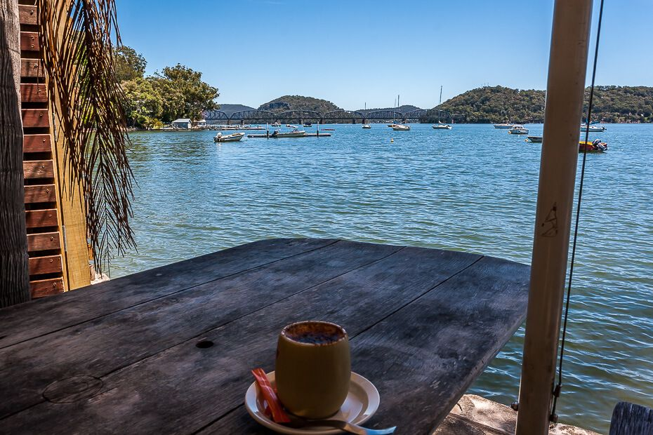 coffee hawkesbury river and brooklyn bridge