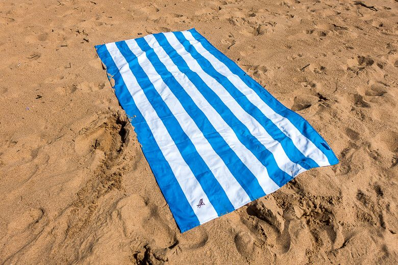Microfiber Towel by Dock & Bay is one of the best towels for travelling