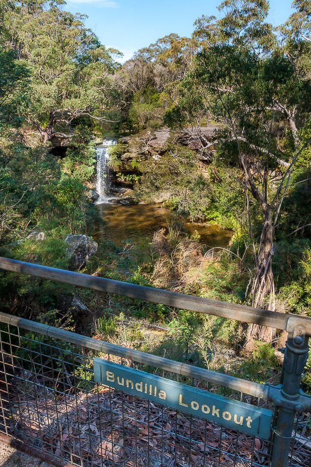 Girrakool To Staples Lookout Via Kariong Brook Falls