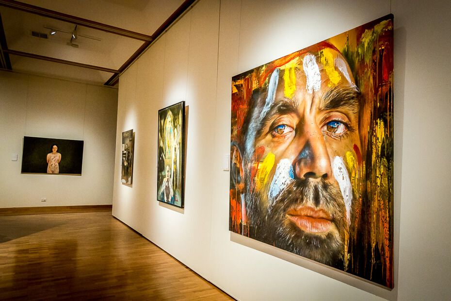 Painting exhibition at Gosford Regional Gallery