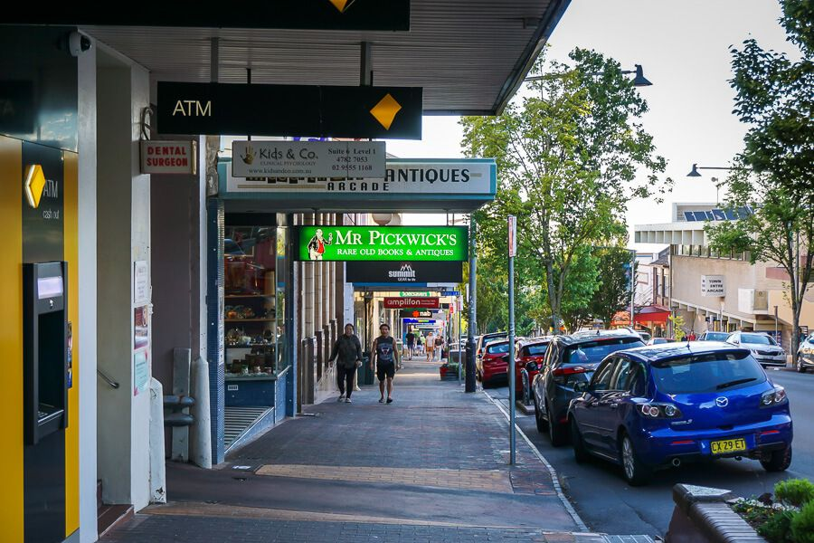 Katoomba shops