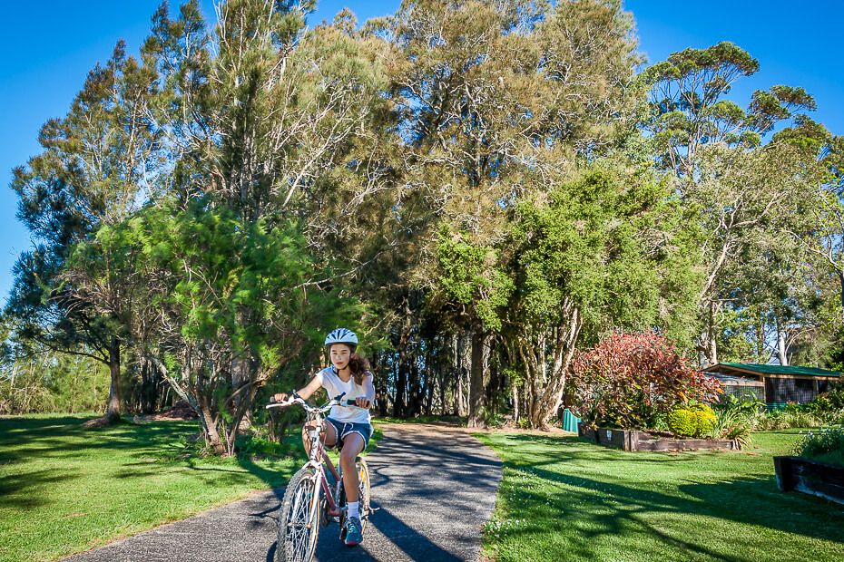 Tuggerah Lake cycling