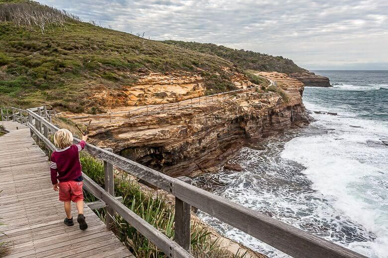The Coastal Walk is the best bush walk near Killcare.