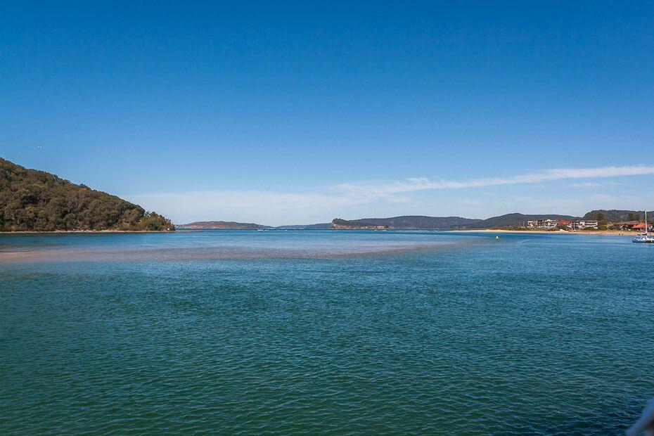 View of Brisbane Water from Ettalong