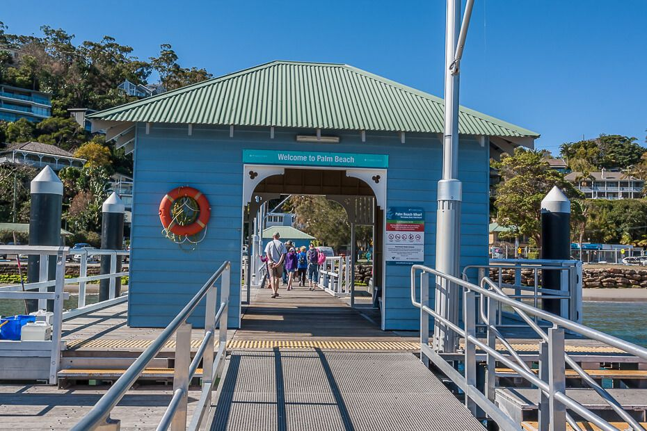 Palm Beach ferry wharf