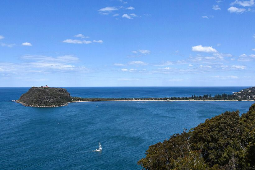 View of Palm Beach from West Head