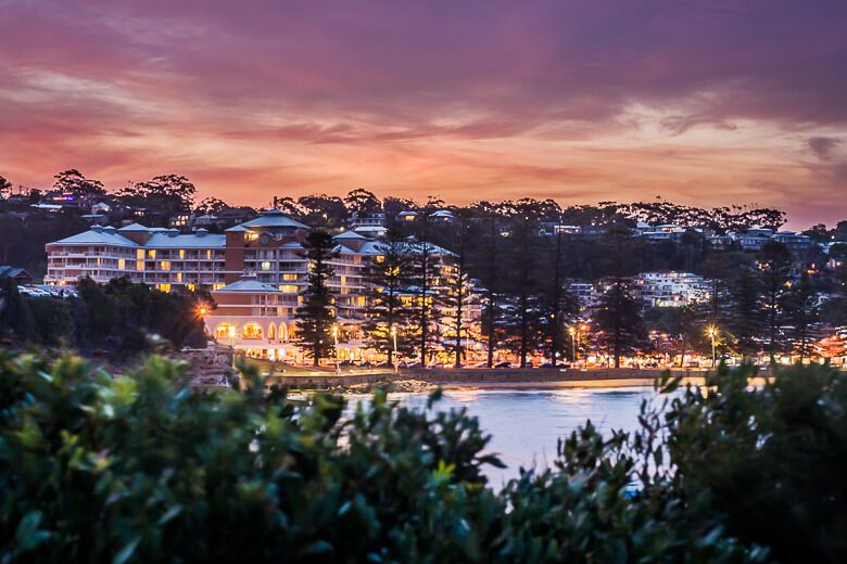 Terrigal accommodation: Crowne Plaza