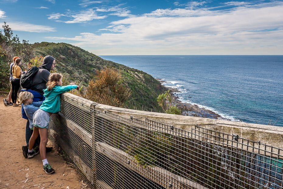 Wyrrabalong National Park - The Coast walking track