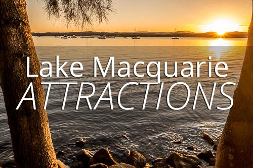 Lake Macquarie attractions
